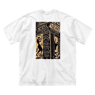 iheuyushiのバイオレックス Big silhouette T-shirts