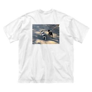 gamiフレ Big silhouette T-shirts
