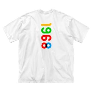 marikiroの1968_西暦 Big silhouette T-shirts