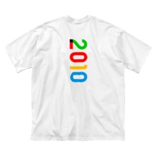 marikiroの2010_西暦 Big silhouette T-shirts