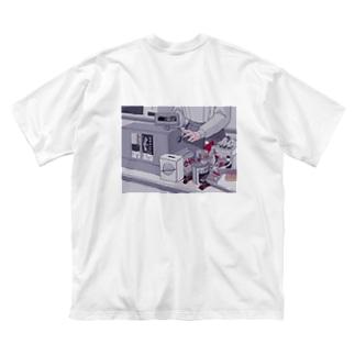 𝑻𝒐__𝒓𝒐𝒓𝒐,𝒔𝒉𝒐𝒑𝒔.のレトロ Big silhouette T-shirts