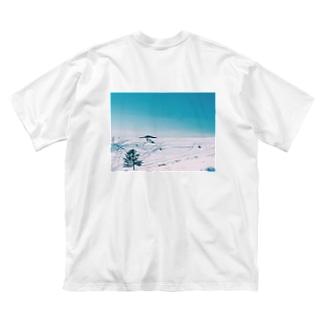 美ヶ原 Big silhouette T-shirts