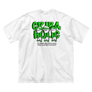"""GANG"" (GREEN) Big silhouette T-shirts"