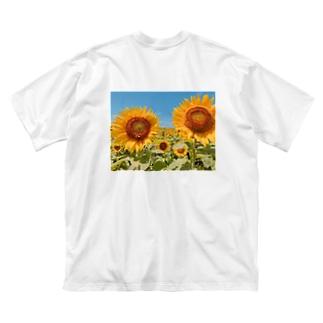 Sunflower Big silhouette T-shirts