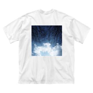 空の覇権争い Big silhouette T-shirts
