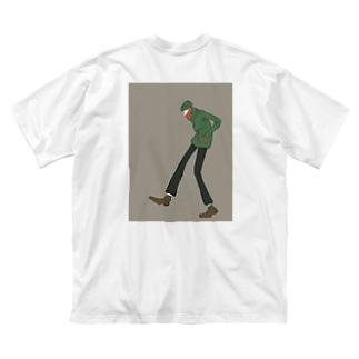 ステルスサンタ Big silhouette T-shirts