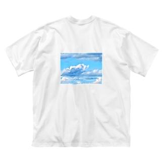 天国への階段 Big silhouette T-shirts