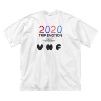 TRIP EMOTION Big silhouette T-shirts
