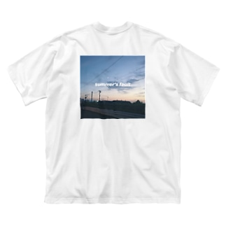 summer's fault Big silhouette T-shirts
