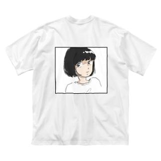 サマーガール Big silhouette T-shirts