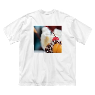 彩。【背面 ver.】 Big silhouette T-shirts