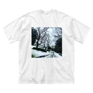 ひろくん Big silhouette T-shirts