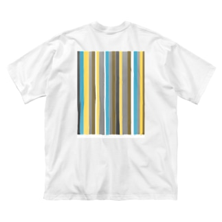 エスニック Big silhouette T-shirts