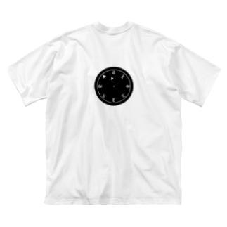 赤羽 a.k.a 終電間近 Big silhouette T-shirts