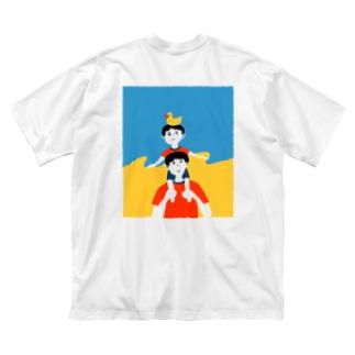ぼくのなつやすみ Big silhouette T-shirts
