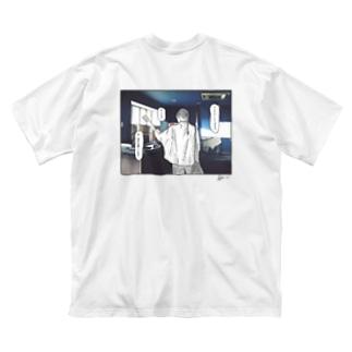 #絶対言わないセリフT Vol.3 Big silhouette T-shirts