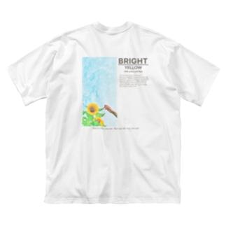 ひまわり🌻 Big silhouette T-shirts