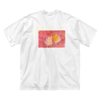 恋と布 Big silhouette T-shirts