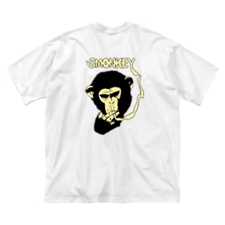 SMONKEY  Big silhouette T-shirts