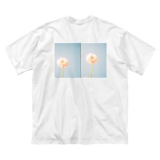 flower** Big silhouette T-shirts