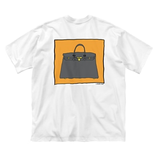 BLKバーキン Big silhouette T-shirts