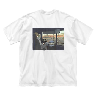 朝焼 Big silhouette T-shirts