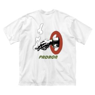 パドロン喫煙者ビッグシルエットTシャツ Big silhouette T-shirts