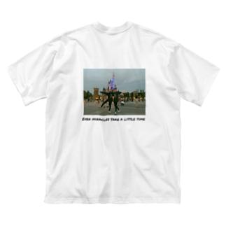 Mちゃんのおそろしゃつ Big silhouette T-shirts