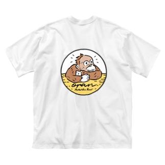 オラン (サークルロゴL) Big silhouette T-shirts