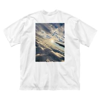 flight Big silhouette T-shirts