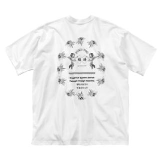 ネオサウナギアFUKUYU Big silhouette T-shirts