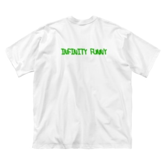 INFINITY FUNNY  Big silhouette T-shirts