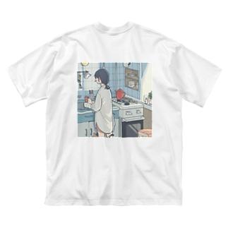 1+1=1 Big silhouette T-shirts