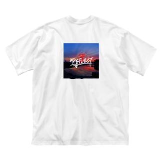 REFLECT>RESPECT Big silhouette T-shirts