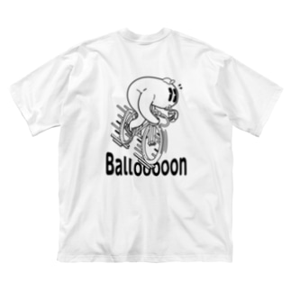 """Ballooooon"" #2 Big Silhouette T-Shirt"