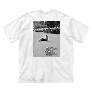 ヤンチャーズ2ndシーズん Big silhouette T-shirts