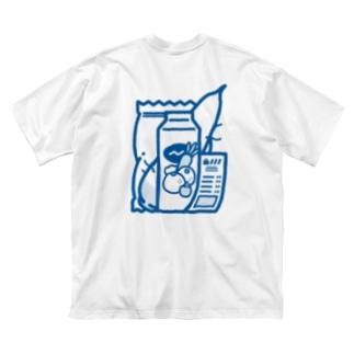 生活 Big silhouette T-shirts