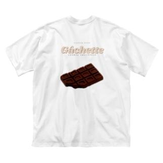 chocolate design Big silhouette T-shirts