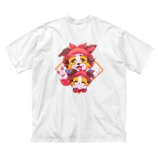 【かぼす】応援グッズ Big silhouette T-shirts