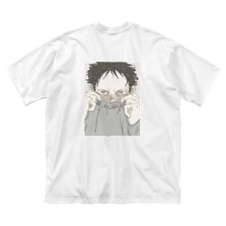 🦨「裏面」 Big silhouette T-shirts