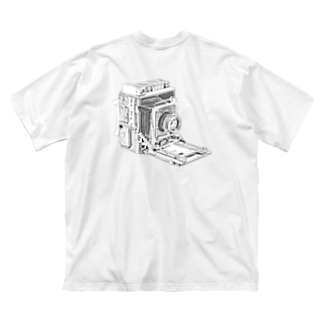 スピグラ Big silhouette T-shirts