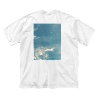 moon Big silhouette T-shirts