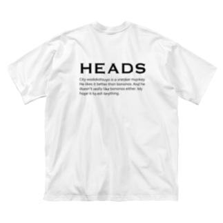 heads Big silhouette T-shirts