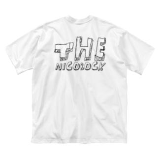 THENICOROCK Big silhouette T-shirts