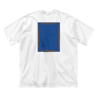 あけぼの Big silhouette T-shirts