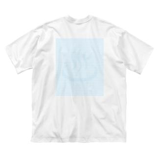 騙し絵銭湯 Big silhouette T-shirts