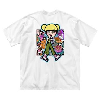 NGS Saya sweets Big silhouette T-shirts