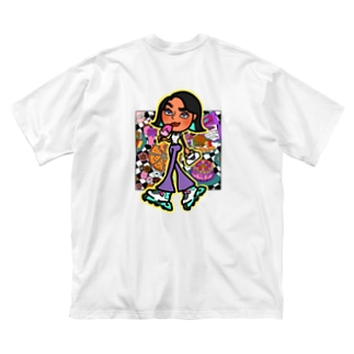 NEF girls.official のNGS Momo sweets Big Silhouette T-Shirt