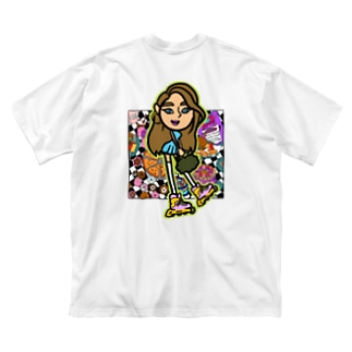 NGS Miyu sweets Big silhouette T-shirts