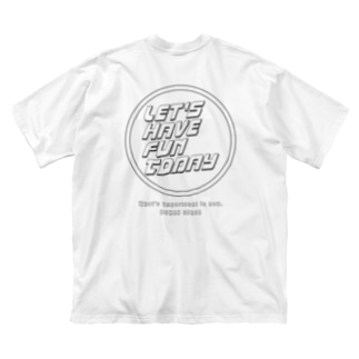 LET'S HAVE FUN TODAY Big Silhouette T-Shirt